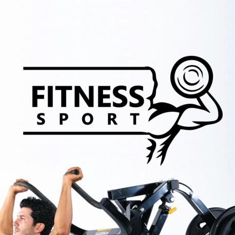 Sticker fitness sport