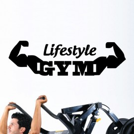 Sticker lifestyle gym