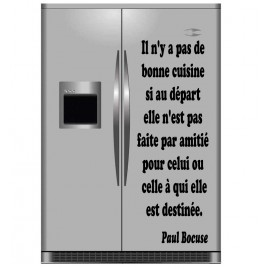 Sticker Citation de Paul Bocuse