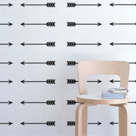 Sticker flèches opposées