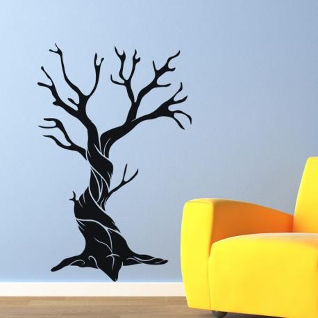 Sticker arbre noués