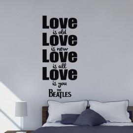 Sticker love is old
