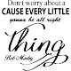 Sticker don't worry by Bob Marley