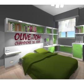 Olive & Tom logo