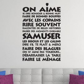 "Sticker ""On aime"""